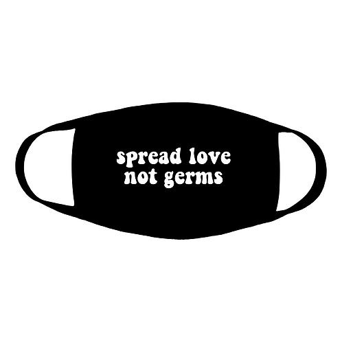 spread love cotton face mask