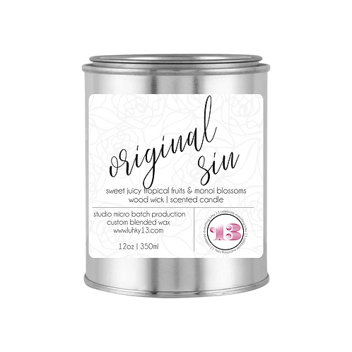 original sin scented candle