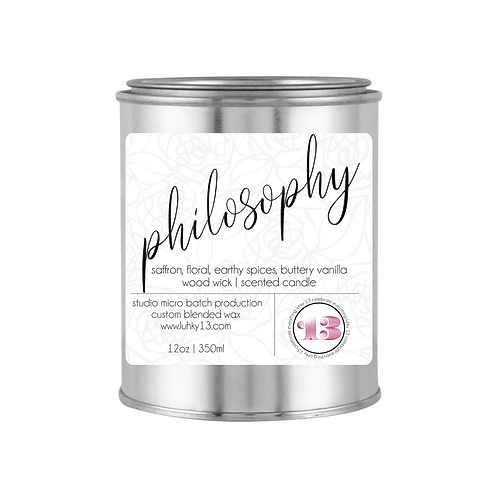 philosophy scented candle