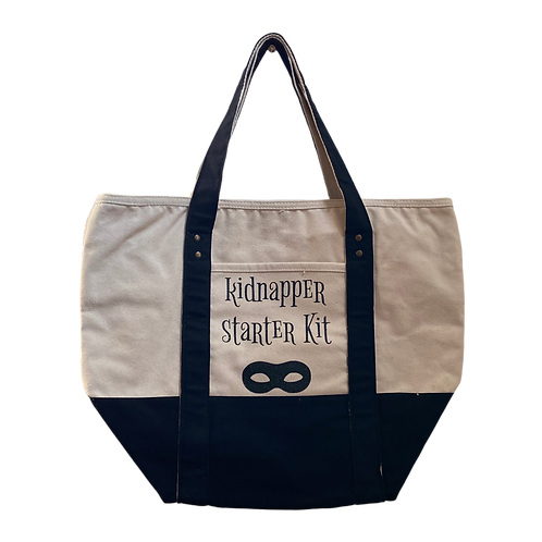 kidnapper starter kit tote