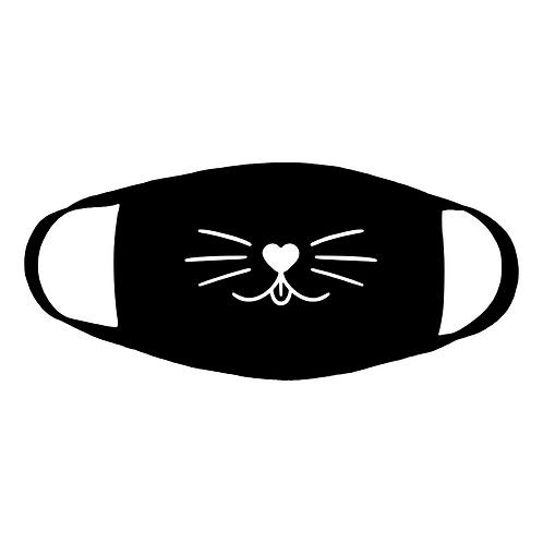 kute kitty cotton face mask