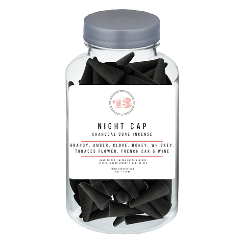 night cap cone incense