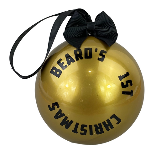 beard's 1st christmas
