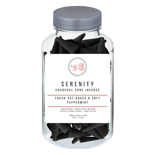 serenity cone incense