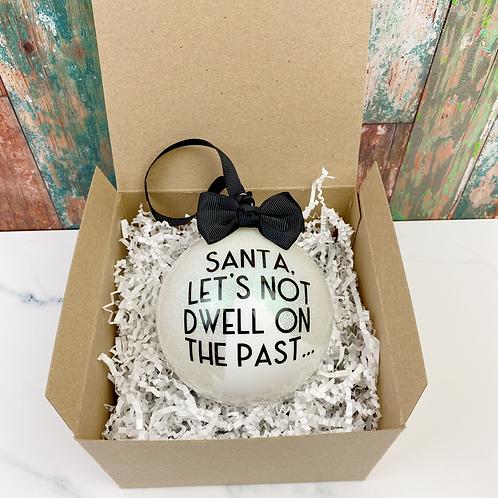 don't dwell…