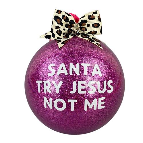 try jesus...