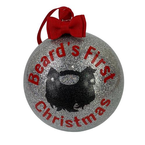 beard's first christmas
