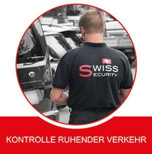 Swiss Security Kontrolle Ruhender Verkehr