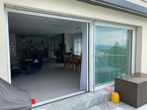 Neuer Insektenschutz Spannrahmen, Lichtschachtabdeckungen und Plissee für Türen in Schongau