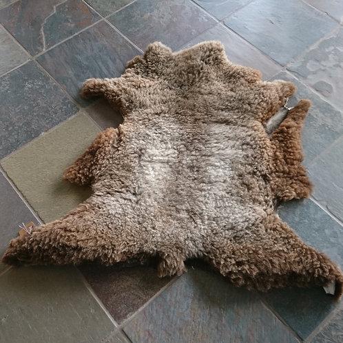 Dekofell Schaf naturbraun