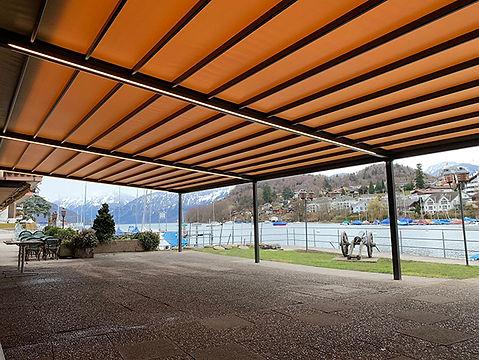 Seegarten Spiez | Beschattungsanlage Rivera