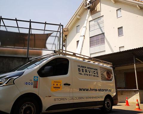 neue Senkrechtmarkiese in Steffisburg