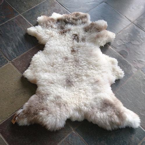 Dekofell Schaf gescheckt
