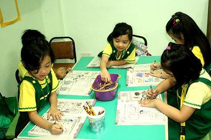 CLSI Preschool Students School Activity Kapitolyo Pasig