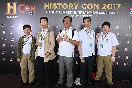 CLSI History Con School Activity Kapitolyo Pasig