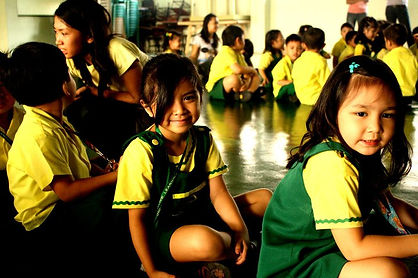 CLSI Preschool Students School Activity in Vargas Hall