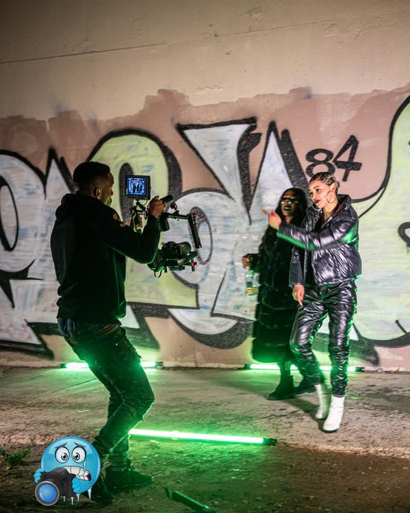 Kevin Devonte poe music video shoot1.JPG