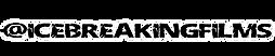 ICE BREAKING FILMS TEXT logo