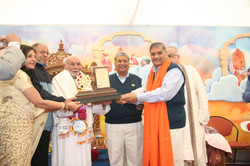 Pujya Rambapa and Pujya Saheb