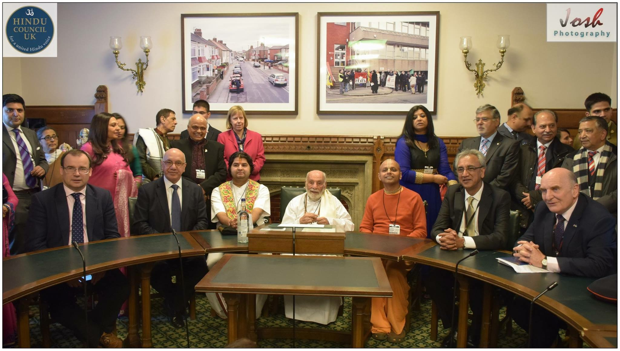 Pujya Rambapa at the HOC