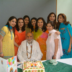 Pujya Rambapa and his family