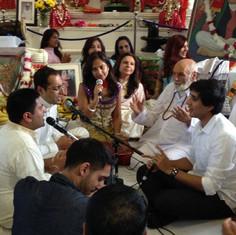 Pujya Rambapa's grandchildren