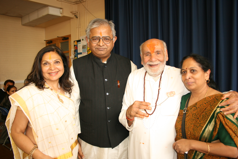 Nandaji and Pujya Rambapa
