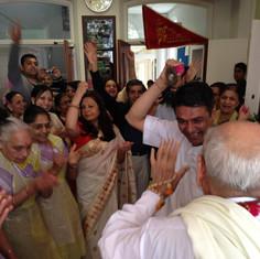 Welcome Pujya Bapa