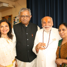 Nandkumarji and Pujya Rambapa