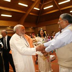 Pujya Rambapa and Jashbhai Saeb