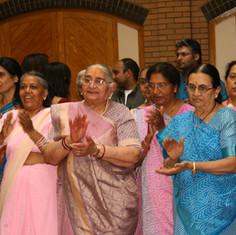 Pujya Ba and mandal