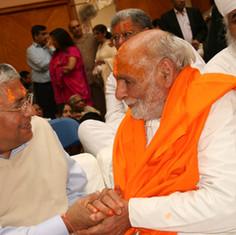 Pujya Rambapa and Jashbhai Saheb