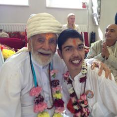 Pujya Rambapa and Balram