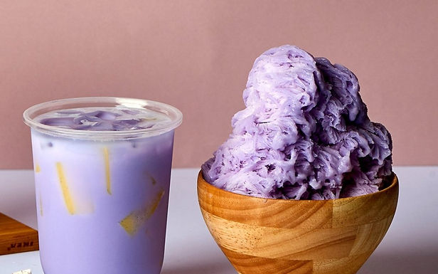 Taro is the Newest, Hottest Old Shaved Ice Flavor