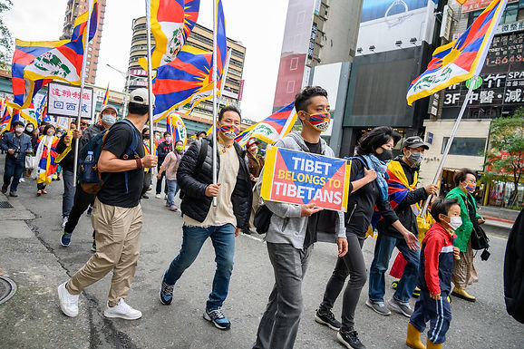 62nd Anniversary of Tibetan Uprising Day Commemorated in Taipei with March, Prayer Ceremony