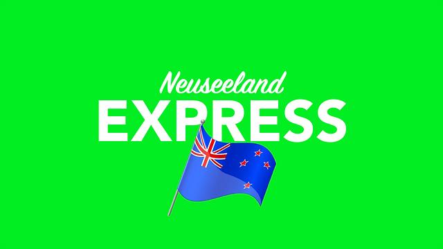 Per Express nach Neuseeland versenden