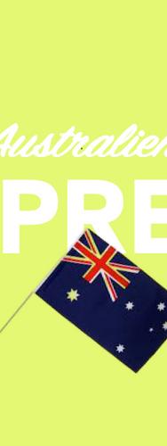 Per Express nach Australien