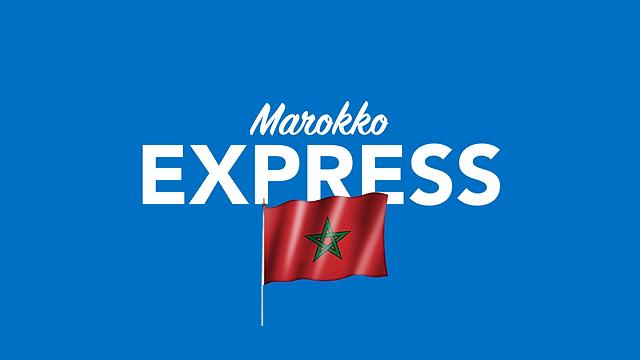 Per Express nach Marokko versenden