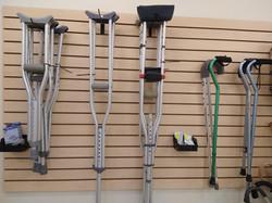 Greeley Canes Crutches