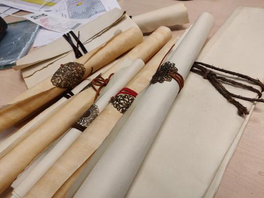 Prop papers/ scrolls