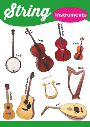 String instruments School Poster