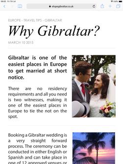 Gibraltar iPad Graphic