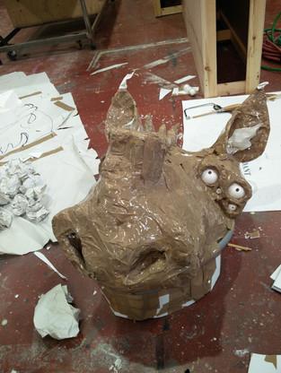 Head Maquette