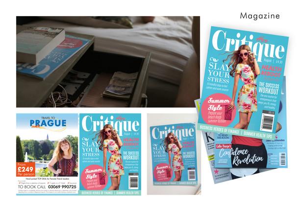 Magazine Design Board