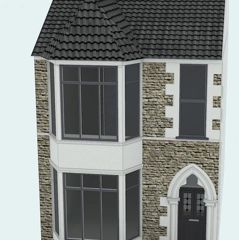 Terrace House Exterior