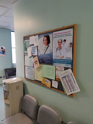 Hospital Notice Board