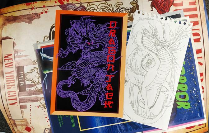 Fake Band Posters and Drawings