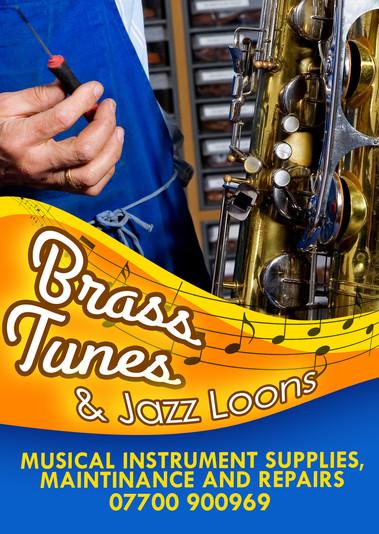 Brass Instrument Classroom Poster