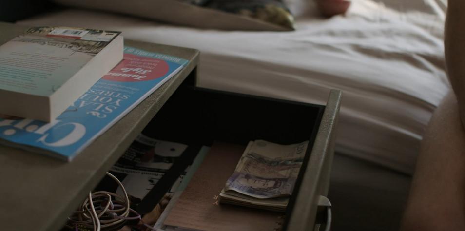 Magazine in shot