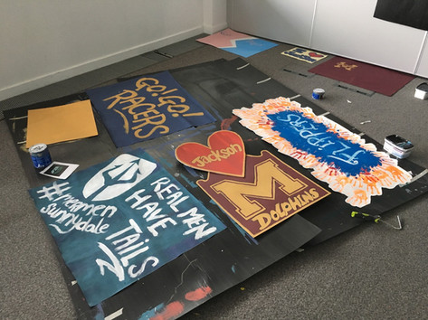 Swimming Contest Banners